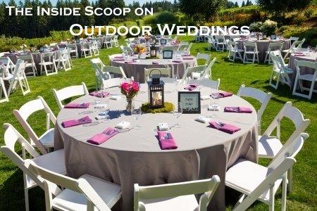 Inside Scoop on Outdoor Weddings