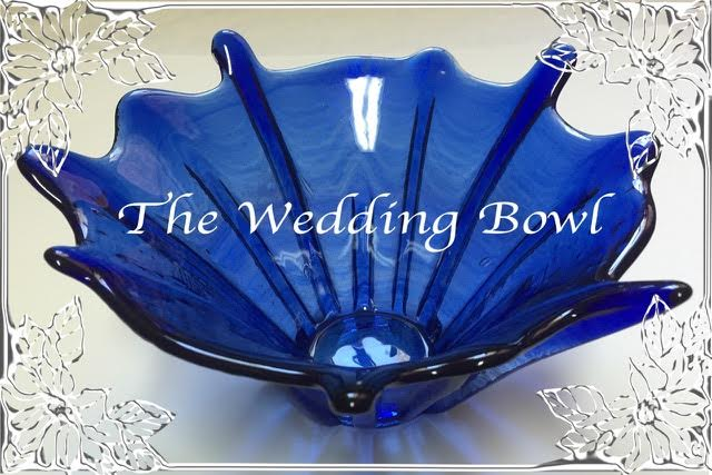 Forever Glass Wedding Bowl