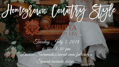 July wedding professional mixer Murieta Inn