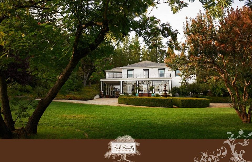 Private Estate wedding venue Foresthill