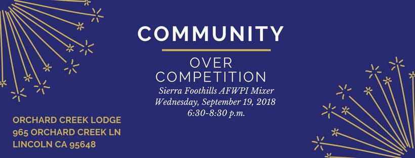 Placer County wedding pros mixer september 2018