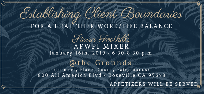 Placer County wedding pros mixer