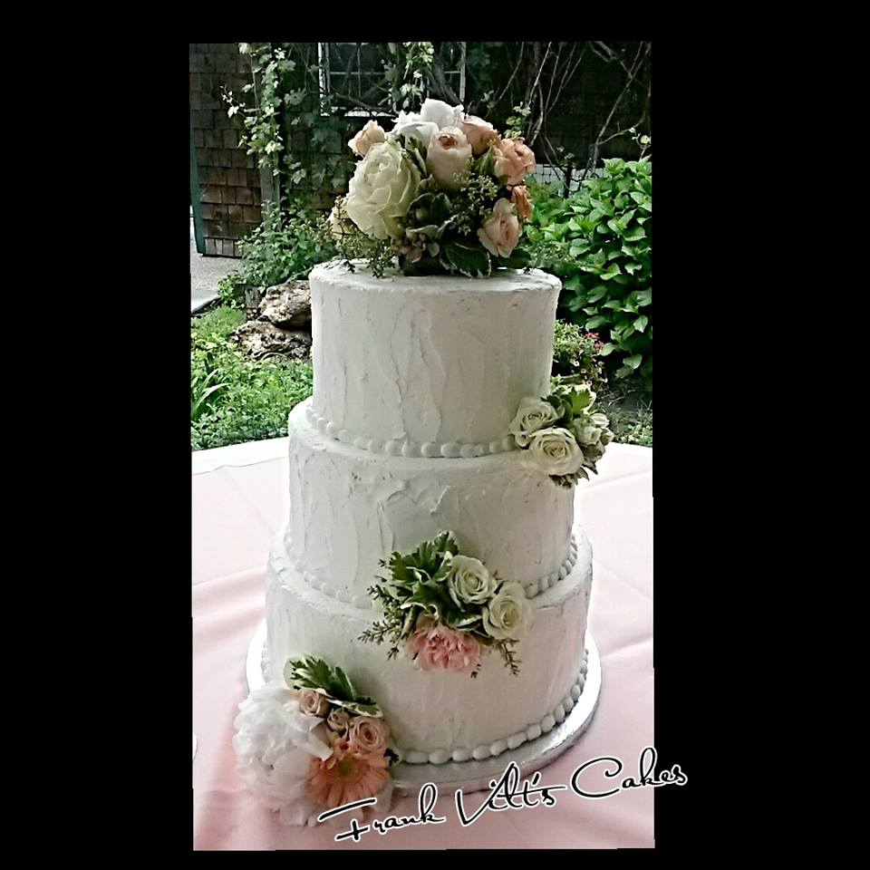 Frank Vilt's wedding cake