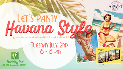 Let's Party Havana Style wedding professional networking mixer
